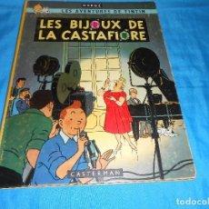 Cómics: LES BIJOUX DE LA CASTAFIORE. CASTERMAN PRIMERA EDICIÓN 1963 IMPORTADO POR HENRI AVELLAN. Lote 140121282