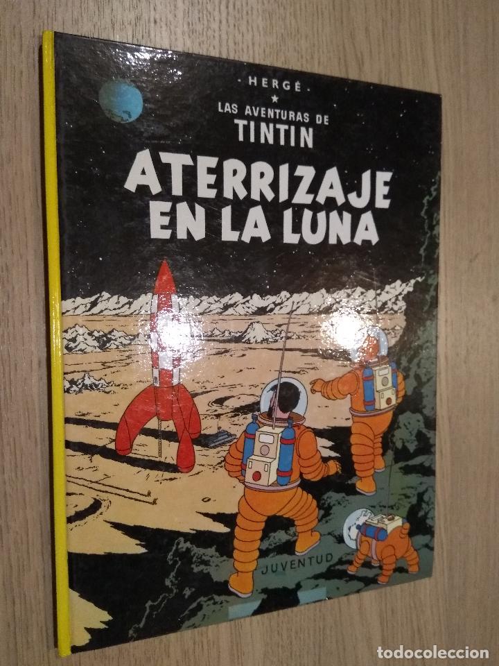 LAS AVENTURAS DE TINTIN / ATERRIZAJE EN LA LUNA / HERGE / JUVENTUD / 1989 (Tebeos y Comics - Juventud - Tintín)