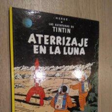 Cómics: LAS AVENTURAS DE TINTIN / ATERRIZAJE EN LA LUNA / HERGE / JUVENTUD / 1989. Lote 142501133