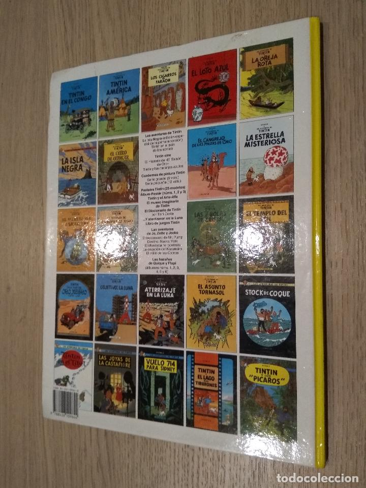 Cómics: las aventuras de tintin / aterrizaje en la luna / herge / juventud / 1989 - Foto 3 - 142501133
