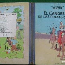 Cómics: TINTIN EL CANGREJO DE LAS PINZAS DE ORO PRIMERA EDICION CASTELLANA ESTINTITN VER FOTOS. Lote 140171814