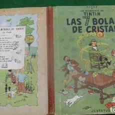 Cómics: TINTIN LAS 7 SIETE BOLAS DE CRISTAL PRIMERA EDICION CASTELLANA ESTINTITN VER FOTOS. Lote 140172382