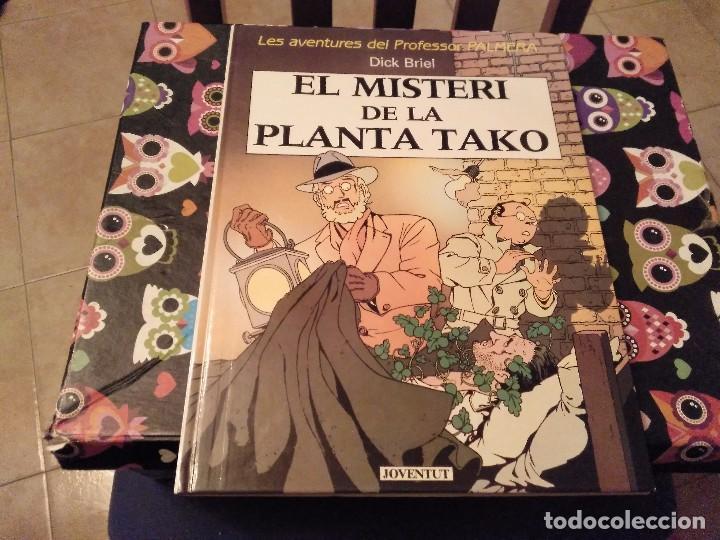 1ª EDICIO 1990 LAS AVENTURAS DEL PROFESSOR PALMERA DICK BRIEL EL MISTERI DE LA PLANTA TAKO JOVENTUD (Tebeos y Comics - Juventud - Otros)
