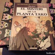 Cómics: 1ª EDICIO 1990 LAS AVENTURAS DEL PROFESSOR PALMERA DICK BRIEL EL MISTERI DE LA PLANTA TAKO JOVENTUD . Lote 140181358