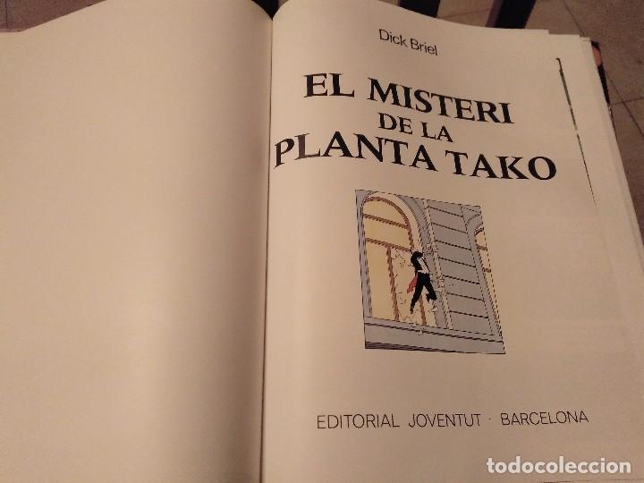 Cómics: 1ª EDICIO 1990 LAS AVENTURAS DEL PROFESSOR PALMERA DICK BRIEL EL MISTERI DE LA PLANTA TAKO JOVENTUD - Foto 2 - 140181358