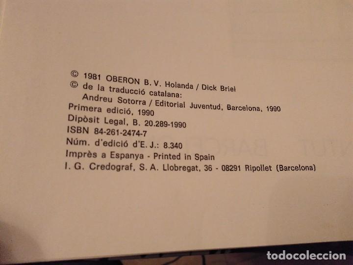 Cómics: 1ª EDICIO 1990 LAS AVENTURAS DEL PROFESSOR PALMERA DICK BRIEL EL MISTERI DE LA PLANTA TAKO JOVENTUD - Foto 3 - 140181358