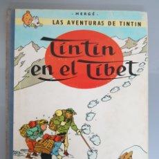 Cómics: TINTIN EN EL TÍBET 3° EDICIÓN 1967 JUVENTUD LIMPIO. Lote 140371433