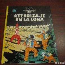 Cómics: AVENTURAS TINTIN - ATERRIZAJE EN LA LUNA - COMO NUEVO 1987 - TAPAS DURAS - VER FOTOS DETALLES. Lote 140644158