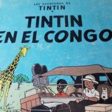 Cómics: TINTIN EN EL CONGO. Lote 140803730