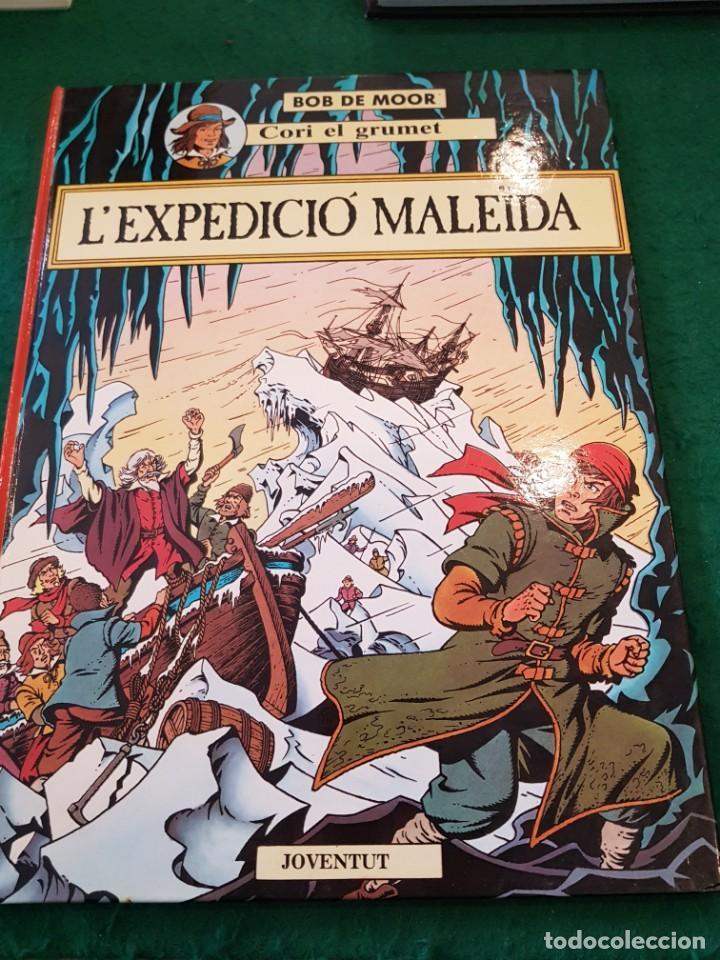 L'EXPEDICIÓ MALEÏDA - CORI EL GRUMET - BOB DE MOOR (Tebeos y Comics - Juventud - Otros)