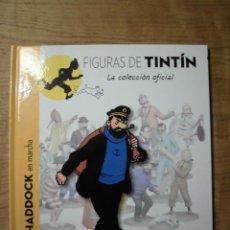Comics : LIBRO + PASAPORTE COLECCIÓN FIGURAS DE TINTIN Nº 13 HADDOCK EN MARCHA MOULINSART. Lote 141245922
