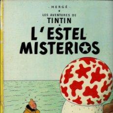 Cómics: HERGE - TINTIN - L' ESTEL MISTERIOS - ED. JUVENTUD, 1981, 5A QUINTA EDICIÓ - FORÇA CORRECTE. Lote 141333790