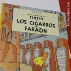 Cómics: TINTIN, LOS CIGARROS DEL FARAON, 1988, EDITORIAL JUVENTUD. Lote 141486490