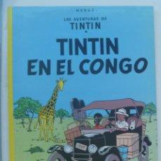 Cómics: LAS AVENTURAS DE TINTIN : TINTIN EN EL CONGO . HERGÉ ... DE JUVENTD.. Lote 141568602