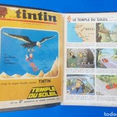 Cómics: TINTIN Y EL TEMPLO DEL SOL (LE TEMPLE DU SOLEIL) JOURNAL TINTIN 1969/1970 - BELVISIÓN. Lote 141598372