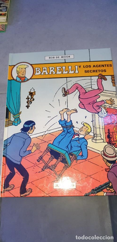 BARELLI Y LOS AGENTES SECRETOS 5 EDITORIAL JUVENTUD (Tebeos y Comics - Juventud - Barelli)