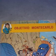 Cómics: LAS AVENTURAS DE JANUARY JONES OBJETIVO MONTECARLO JUVENTUD. Lote 141613534