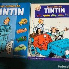 Cómics: LOS COCHES DE TINTIN. PRESENTACION Y FASCICULO Nº 1. PLANETA AGOSTINI.. Lote 141738886