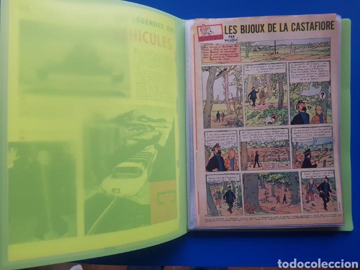 Cómics: LAS JOYAS DE LA CASTAFIORE (LES BIJOUX DE LA CASTAFIORE) Journal TINTIN 1961/1962-Anterior 1 edición - Foto 2 - 141827470