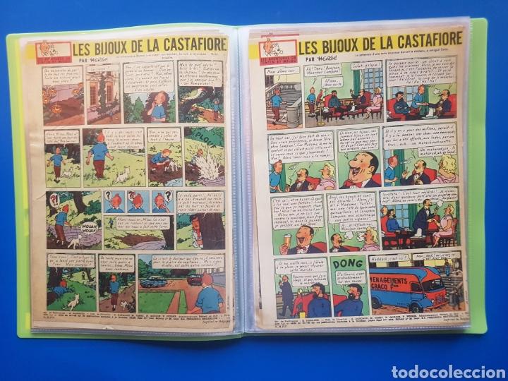 Cómics: LAS JOYAS DE LA CASTAFIORE (LES BIJOUX DE LA CASTAFIORE) Journal TINTIN 1961/1962-Anterior 1 edición - Foto 6 - 141827470