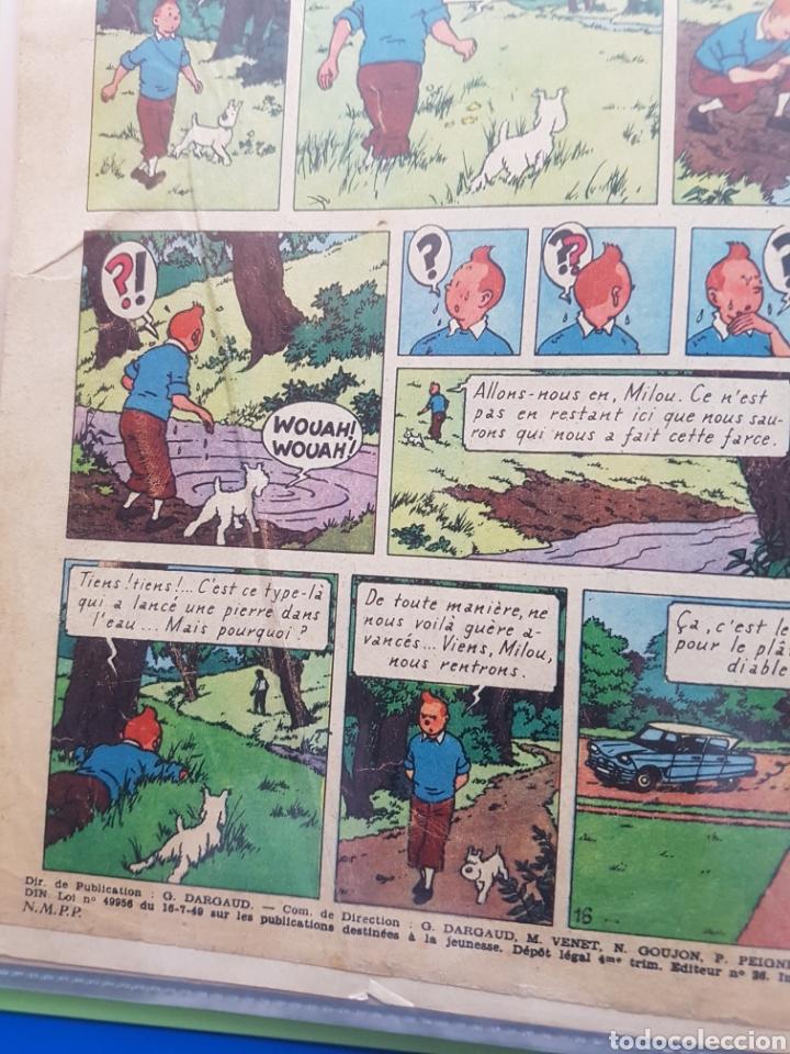 Cómics: LAS JOYAS DE LA CASTAFIORE (LES BIJOUX DE LA CASTAFIORE) Journal TINTIN 1961/1962-Anterior 1 edición - Foto 7 - 141827470