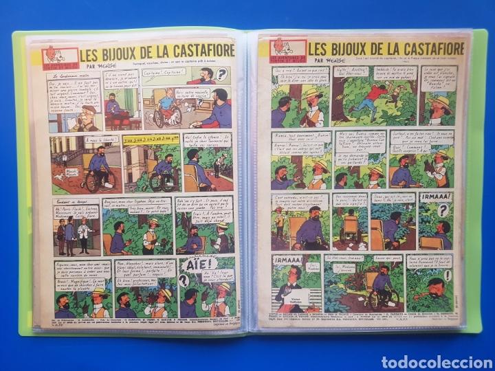 Cómics: LAS JOYAS DE LA CASTAFIORE (LES BIJOUX DE LA CASTAFIORE) Journal TINTIN 1961/1962-Anterior 1 edición - Foto 9 - 141827470