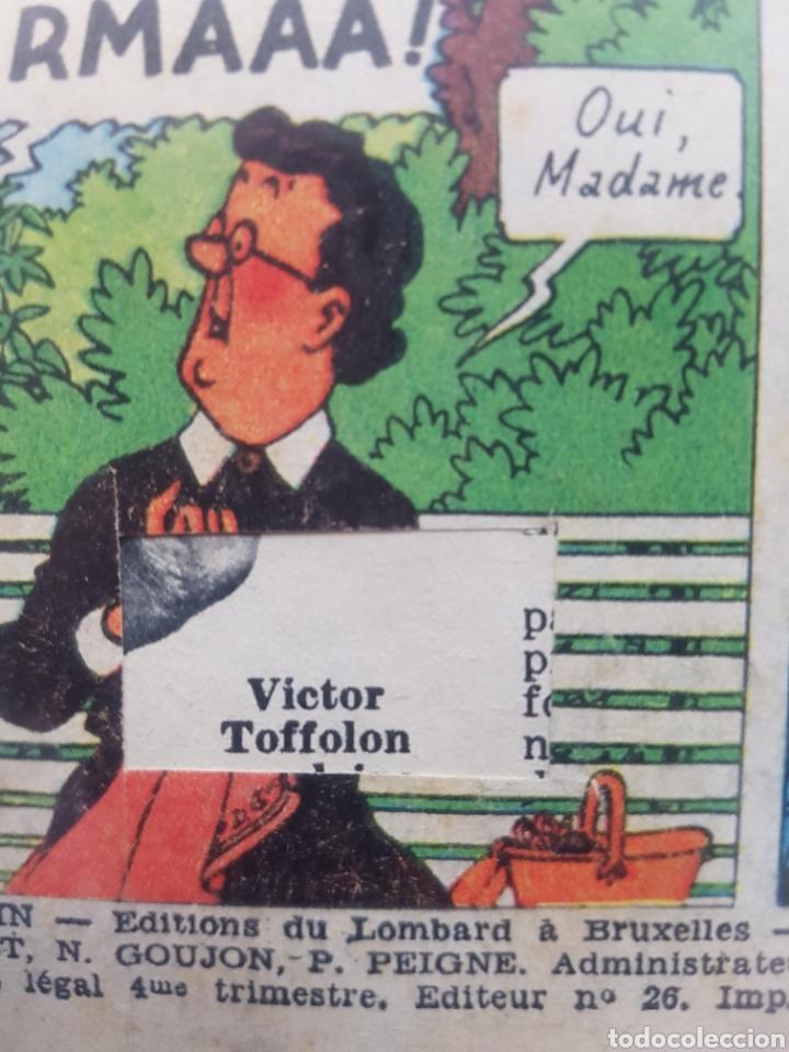 Cómics: LAS JOYAS DE LA CASTAFIORE (LES BIJOUX DE LA CASTAFIORE) Journal TINTIN 1961/1962-Anterior 1 edición - Foto 10 - 141827470