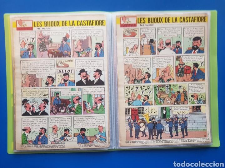 Cómics: LAS JOYAS DE LA CASTAFIORE (LES BIJOUX DE LA CASTAFIORE) Journal TINTIN 1961/1962-Anterior 1 edición - Foto 12 - 141827470