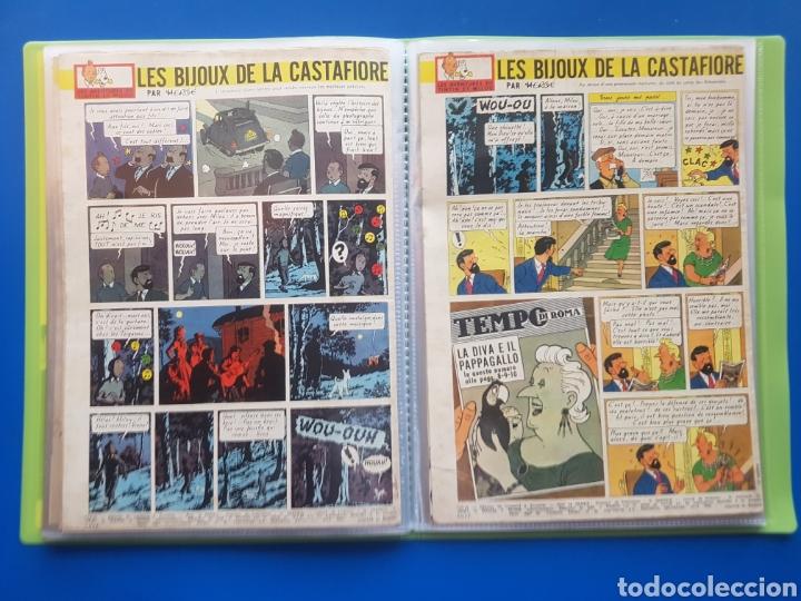 Cómics: LAS JOYAS DE LA CASTAFIORE (LES BIJOUX DE LA CASTAFIORE) Journal TINTIN 1961/1962-Anterior 1 edición - Foto 17 - 141827470