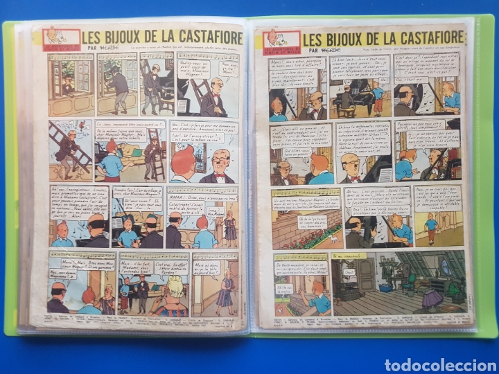 Cómics: LAS JOYAS DE LA CASTAFIORE (LES BIJOUX DE LA CASTAFIORE) Journal TINTIN 1961/1962-Anterior 1 edición - Foto 18 - 141827470
