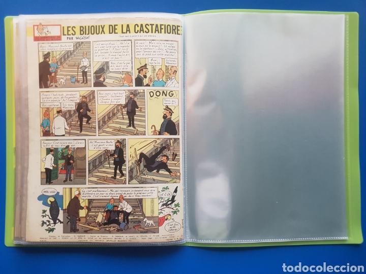 Cómics: LAS JOYAS DE LA CASTAFIORE (LES BIJOUX DE LA CASTAFIORE) Journal TINTIN 1961/1962-Anterior 1 edición - Foto 21 - 141827470