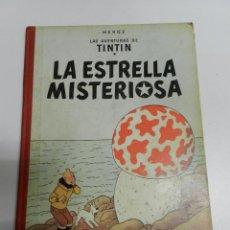 Cómics: TINTIN .- LA ESTRELLA MISTERIOSA - SEGUNDA EDICIÓN - LOMO TELA. Lote 141864454