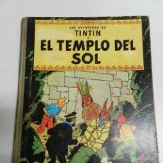 Comics - TINTIN .- EL TEMPLO DEL SOL - SEGUNDA EDICIÓN 1961 - LOMO TELA - 141864710