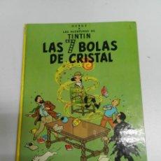 Cómics: TINTIN .- LAS SIETE BOLAS DE CRISTAL - CUARTA EDICIÓN 1975 -. Lote 217776831