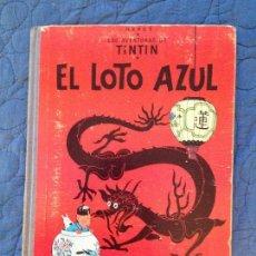 Cómics: EL LOTO AZUL,LAS AVENTURAS DE TINTIN 1965. Lote 142160626