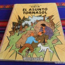 Cómics: TINTIN EL ASUNTO TORNASOL LOMO ROJO 1ª PRIMERA EDICIÓN. JUVENTUD 1961. DIFÍCIL. Lote 142494618