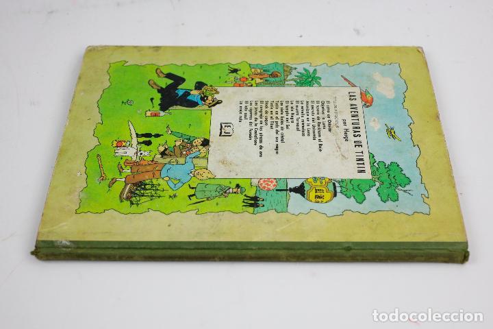 Cómics: Las aventuras de Tintin, el tesoro de Backham el rojo, 1967, editorial juventud, Hergé, Barcelona. - Foto 2 - 142668678