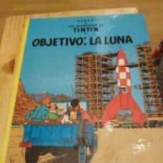 Cómics: TIN TIN - OBJETIVO : LA LUNA - JUVENTUD - HERGE - DECIMOCUARTA EDICION 1990 - TINTIN. Lote 142807706