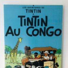 Cómics: TINTÍN CONGO CUADRO. Lote 142966525