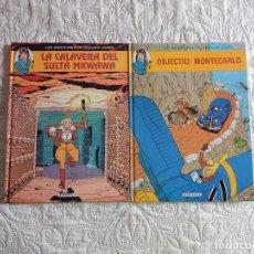Cómics: LES AVENTURES DE JANUARY JONES - N. 1 I 2 -CATALA. Lote 143058370