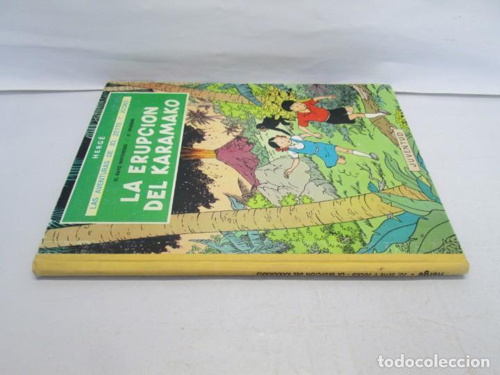 Cómics: LAS AVENTURAS DE JO, ZETTE Y JOCKO. LA ERUPCION DEL KARAMAKO. ED. JUVENTUD. 1 EDICION 1971 - Foto 2 - 143693434