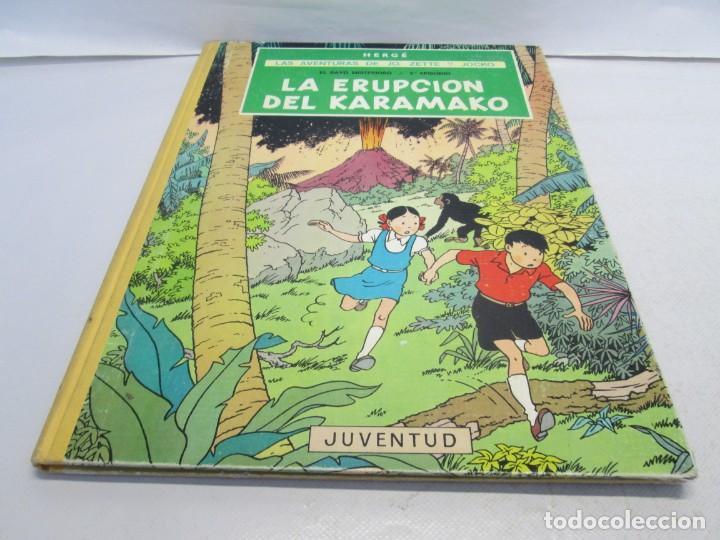 Cómics: LAS AVENTURAS DE JO, ZETTE Y JOCKO. LA ERUPCION DEL KARAMAKO. ED. JUVENTUD. 1 EDICION 1971 - Foto 3 - 143693434