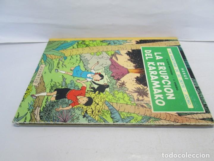 Cómics: LAS AVENTURAS DE JO, ZETTE Y JOCKO. LA ERUPCION DEL KARAMAKO. ED. JUVENTUD. 1 EDICION 1971 - Foto 4 - 143693434