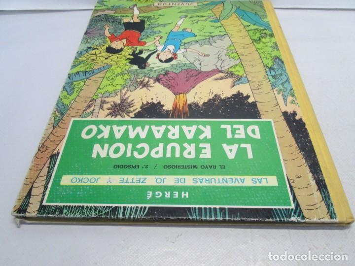 Cómics: LAS AVENTURAS DE JO, ZETTE Y JOCKO. LA ERUPCION DEL KARAMAKO. ED. JUVENTUD. 1 EDICION 1971 - Foto 5 - 143693434