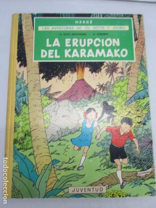 Cómics: LAS AVENTURAS DE JO, ZETTE Y JOCKO. LA ERUPCION DEL KARAMAKO. ED. JUVENTUD. 1 EDICION 1971 - Foto 6 - 143693434