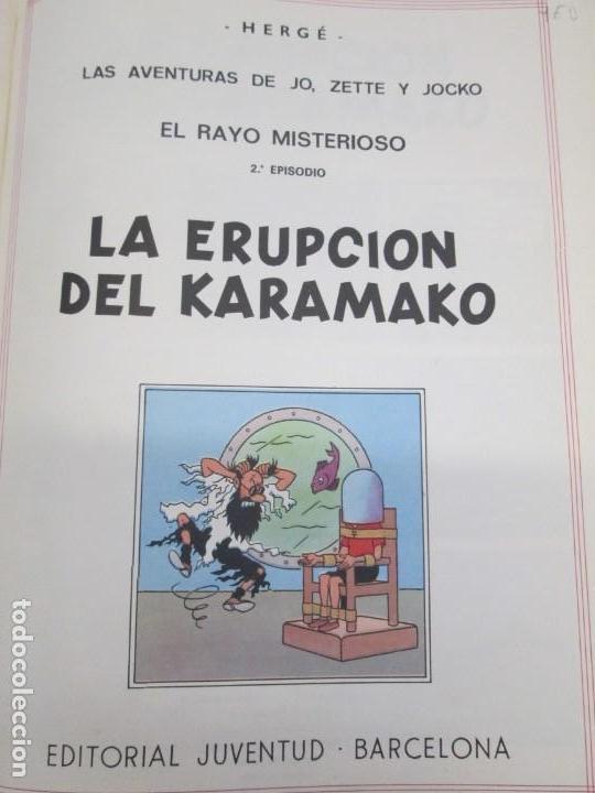 Cómics: LAS AVENTURAS DE JO, ZETTE Y JOCKO. LA ERUPCION DEL KARAMAKO. ED. JUVENTUD. 1 EDICION 1971 - Foto 7 - 143693434