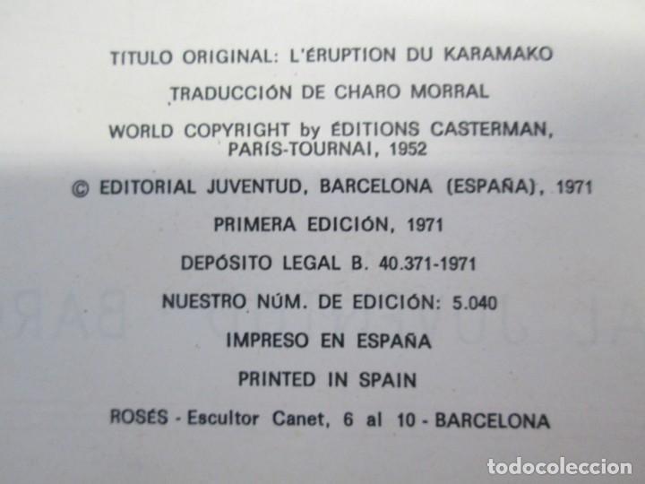 Cómics: LAS AVENTURAS DE JO, ZETTE Y JOCKO. LA ERUPCION DEL KARAMAKO. ED. JUVENTUD. 1 EDICION 1971 - Foto 8 - 143693434