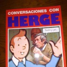 Cómics: CONVERSACIONES CON HERGE, TINTIN Y YO, NUMA SADOUL, EDITORIAL JUVENTUD, 1986. Lote 143914182