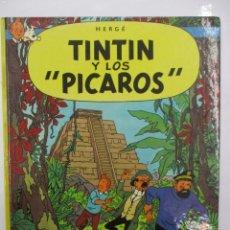 Cómics: TINTIN Y LOS PICAROS - PRIMERA / 1ª EDICION - HERGE - TAPA DURA - JUVENTUD. Lote 144026630
