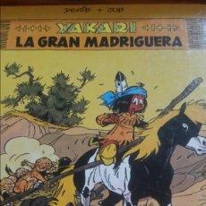 Cómics: YAKARI N.10 LA GRAN MADRIGUERA. Lote 144560670